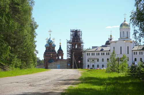Фото хорошего качества Николо-Сольбинского женского монастыря, деревня Сольба, Переславский район, Ярославская область.